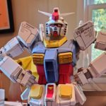 This Is A <em>Gundam</em> Model, But It Ain't A Gunpla, It Is Paper <em>Gundam</em>