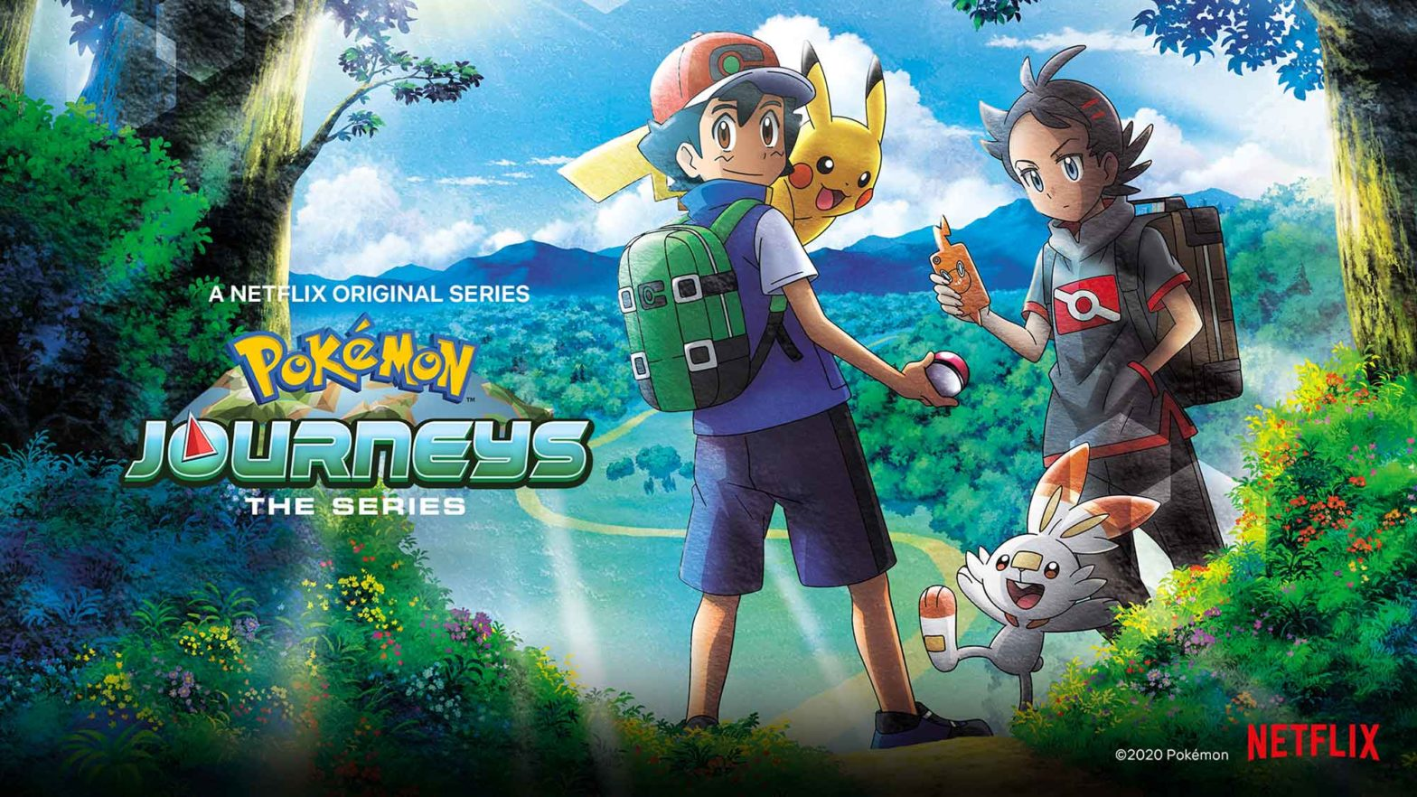 Pokemon Journeys The Series Netflix US