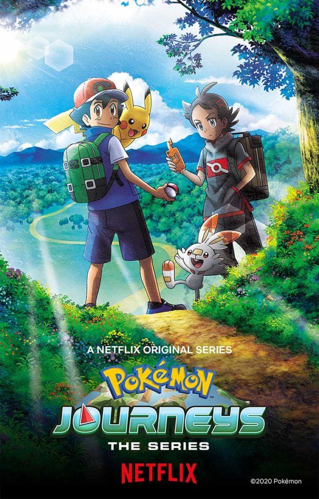 Pokemon Journeys The Series Netflix US