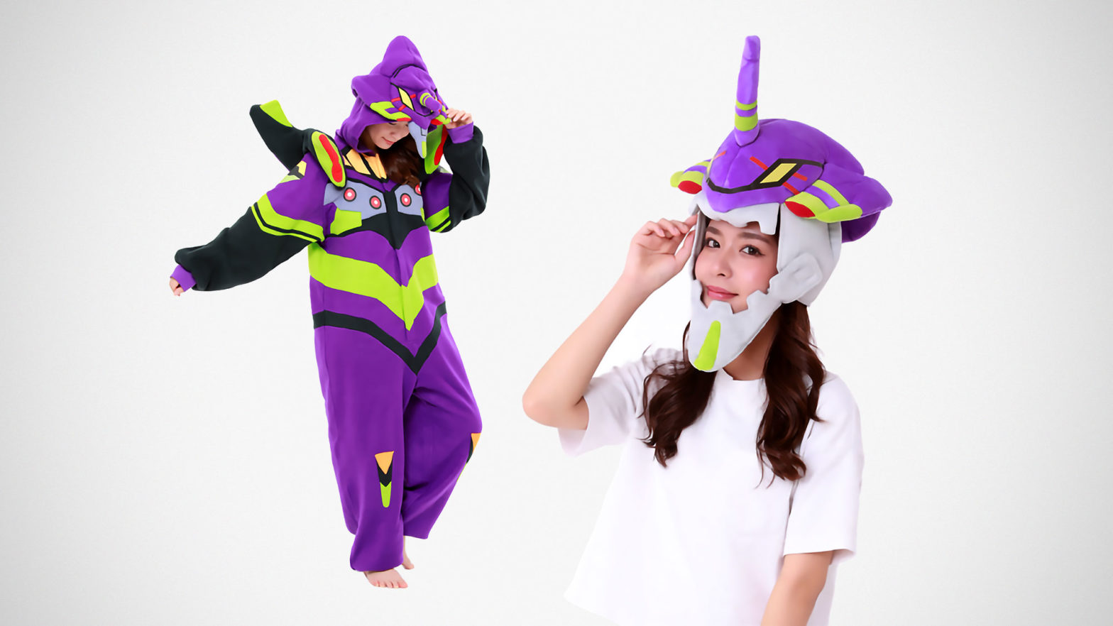 Sazac Evangelion Unit-01 Cap and Onsie