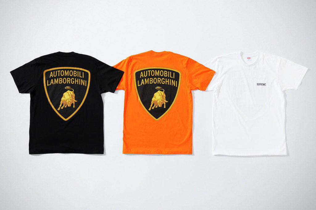 Supreme x Automobili Lamborghini T-Shirt