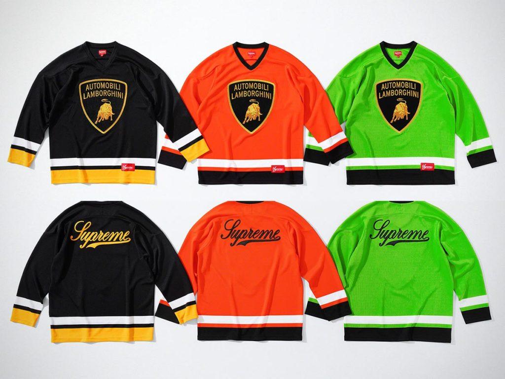 Supreme x Automobili Lamborghini Hockey Jersey