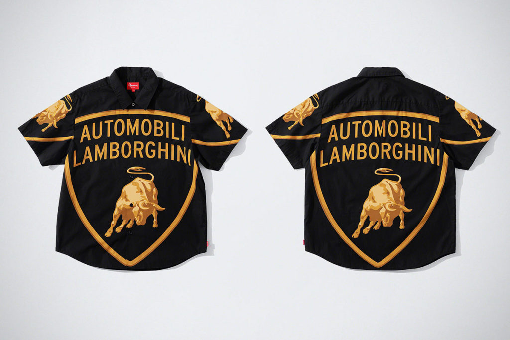 Supreme x Automobili Lamborghini S/S Shirt