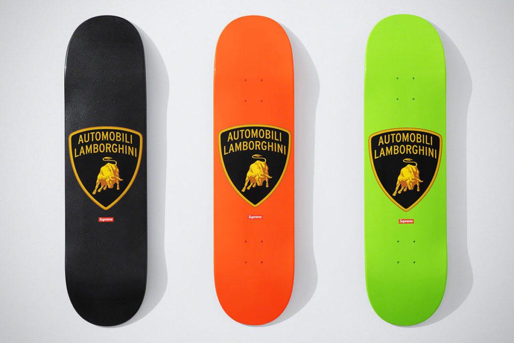 Supreme x Automobili Lamborghini Skateboard
