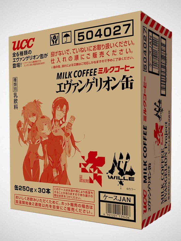 UCC Evangelion 30-pack Case