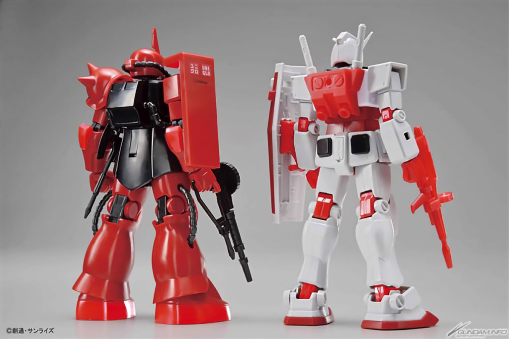 UT Gunpla 40th Uniqlo Collection