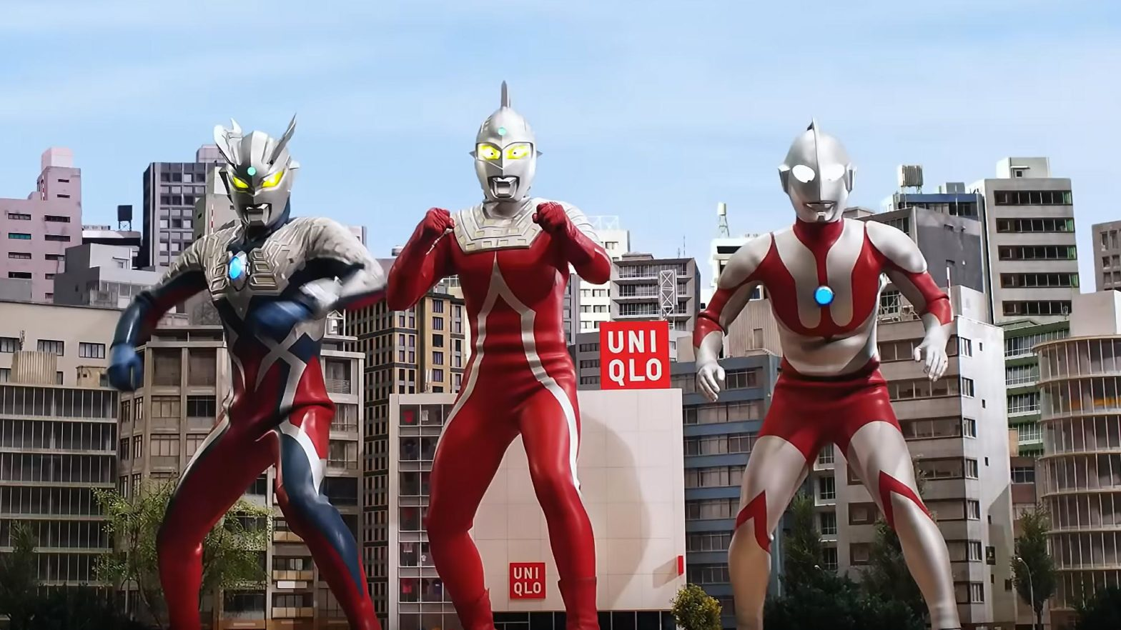 Ultraman and Monsters Uniqlo Graphic T-Shirts
