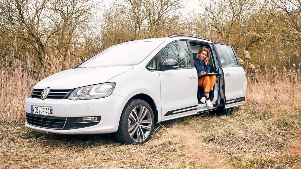 Volkswagen Sharan Office on Wheels