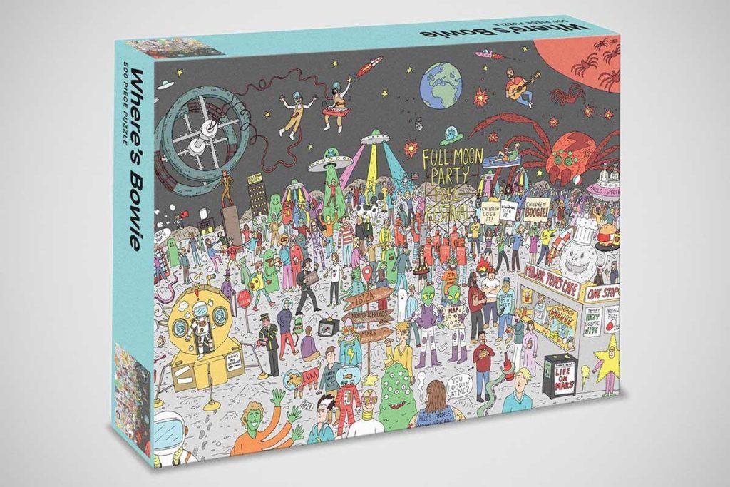 Where's Bowie? 500-piece Puzzle