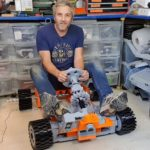 Man Behind Drivable Hexapod Is Building A Life-size Electric LEGO Go-Kart