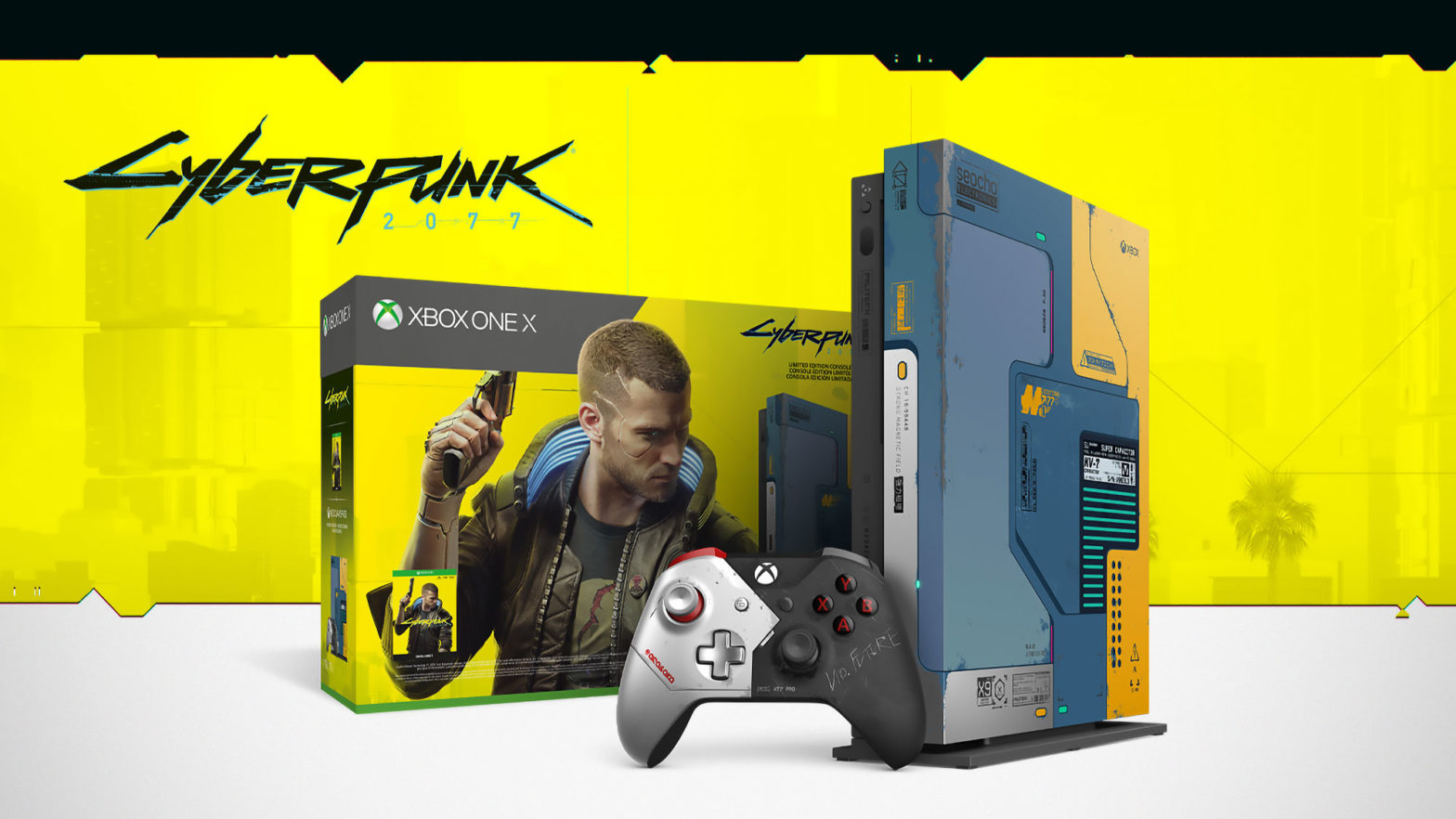 Xbox One Cyberpunk 2077 Limited Edition Bundle