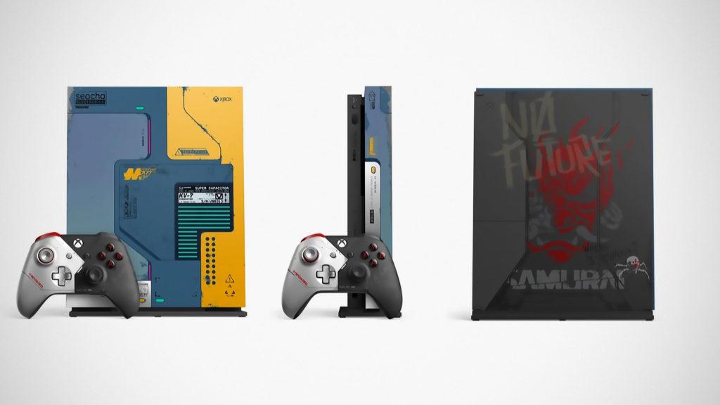 Xbox One Cyberpunk 2077 Limited Edition Bundle