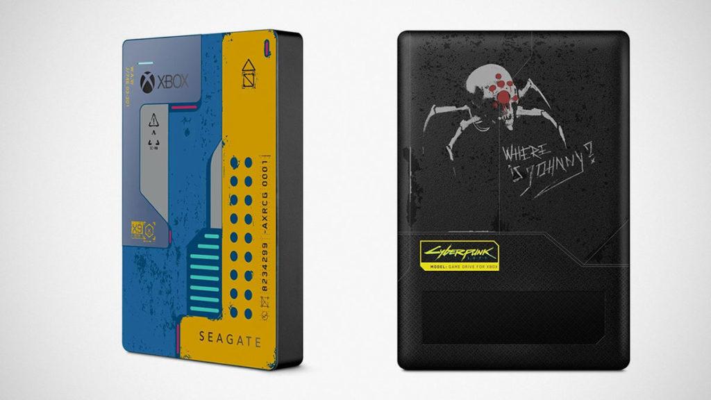 Xbox One Cyberpunk 2077 Seagate Drive