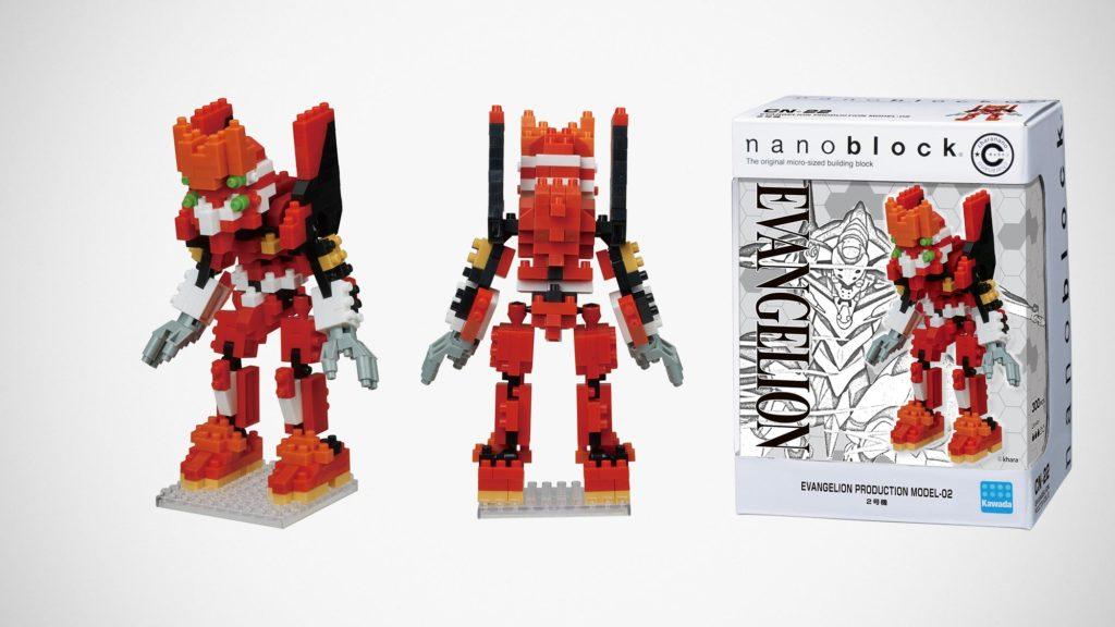 nanoblock Charanano Evangelion Unit-02