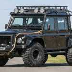 This Land Rover Defender 110 Used In The Filming Of <em>Spectre 007</em> Is Going On The Block