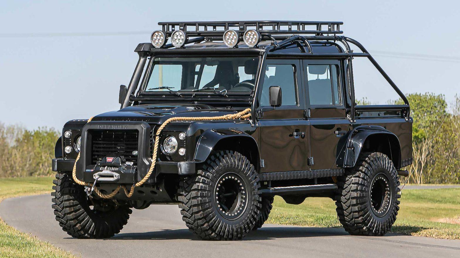 2015 Land Rover Defender 110 SVX Spectre JB24