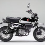 Black Shiny Pearl Color Makes The 2020 Honda Monkey 125 Motorcycle Looks Even More 60s