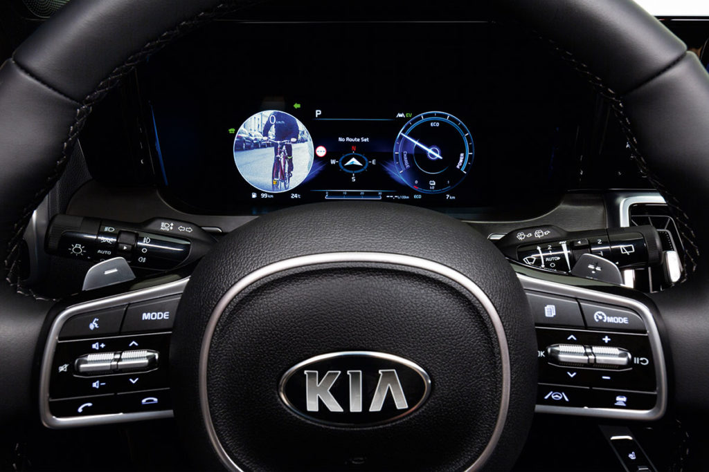 All-new Kia Sorento Blind-Spot View Monitor