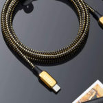 Anker Goes All-out Luxe With A US$100 Dollar 24K Gold-plated USB-C-To-Lightning Cable