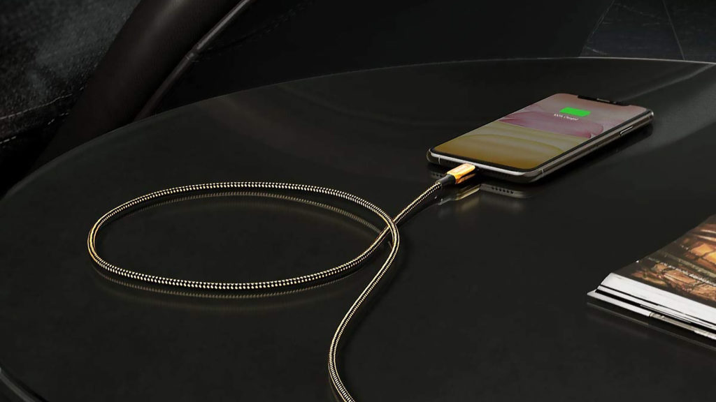 Anker 2020 24K Gold USB-C-to-Lightning Cable
