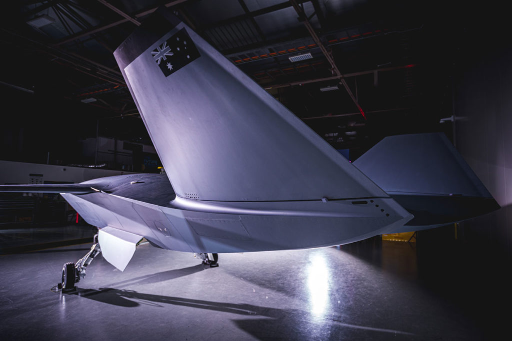 Boeing Loyal Wingman Unmanned Aircraft Prototype