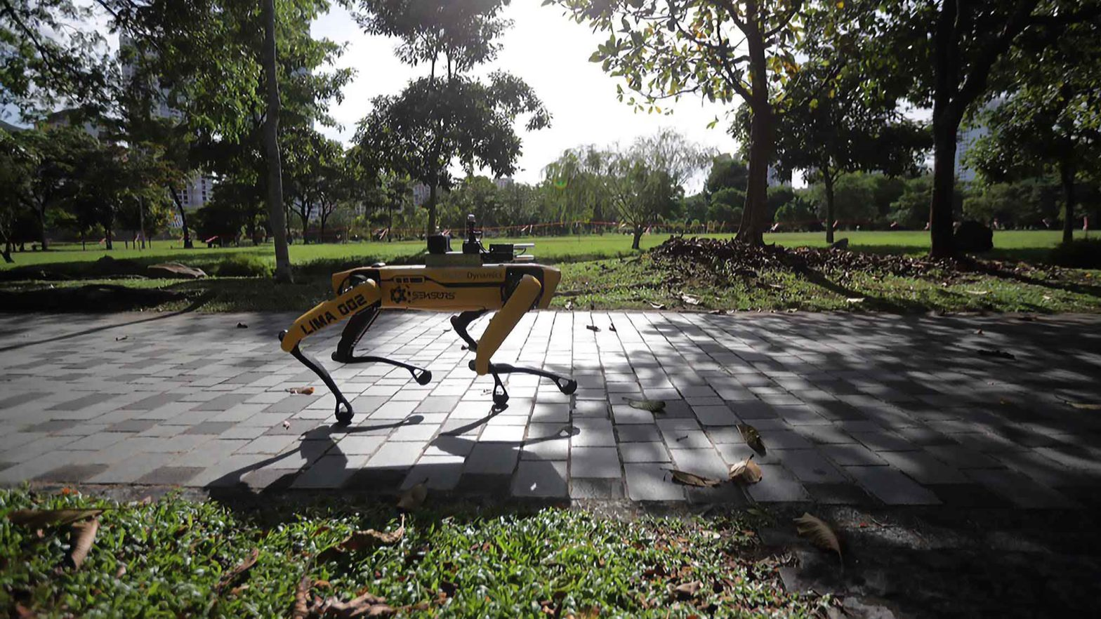 Boston Dynamics Spot in Singapore