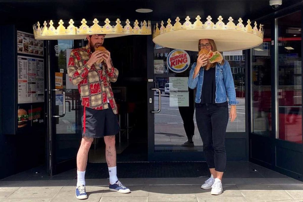 Burger King Social Distancing Crowns