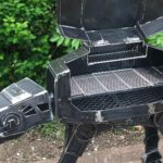 Check Out This Super Cool Custom Star Wars AT-AT BBQ Grill/Firepit