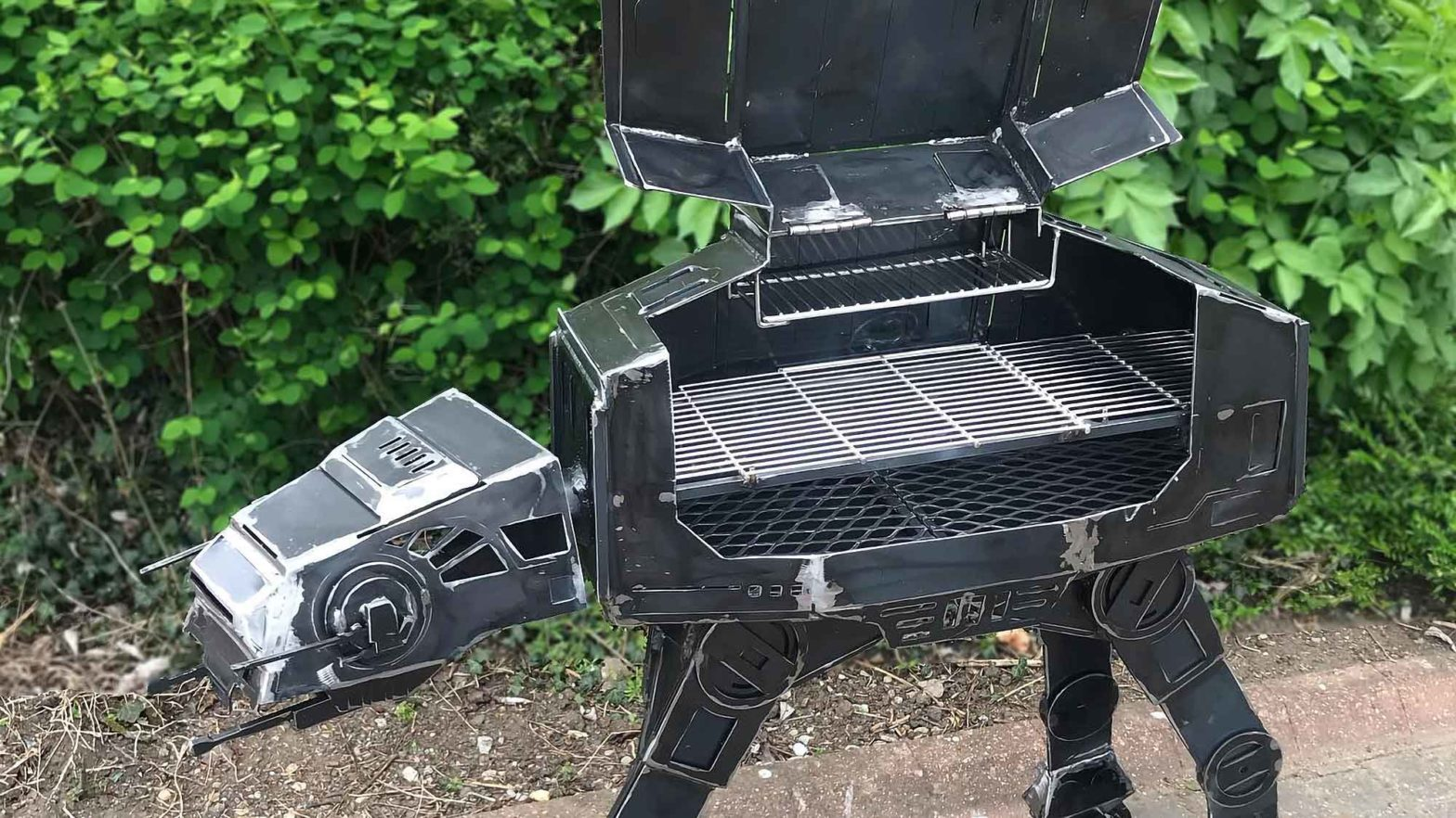 Burned by Design Star Wars AT-AT BBQ Grill/Firepit
