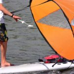 Pop-up Wind Sail Is For Those Paddle Boarders And Kayakers Who Are Too Lazy To Paddle