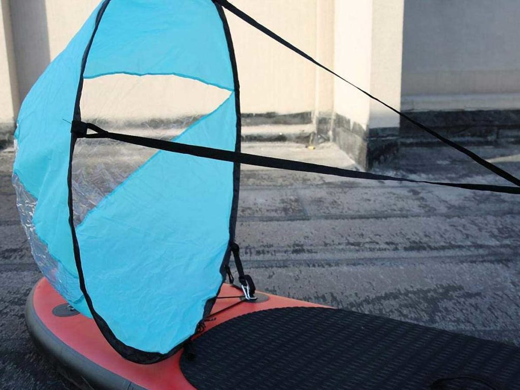 Caredy Pop-up Wind Sail for Paddle Board and Kayak