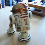 This Custom R9-D9 Astromech Droid Is Actually A Modified Robot Vacuum