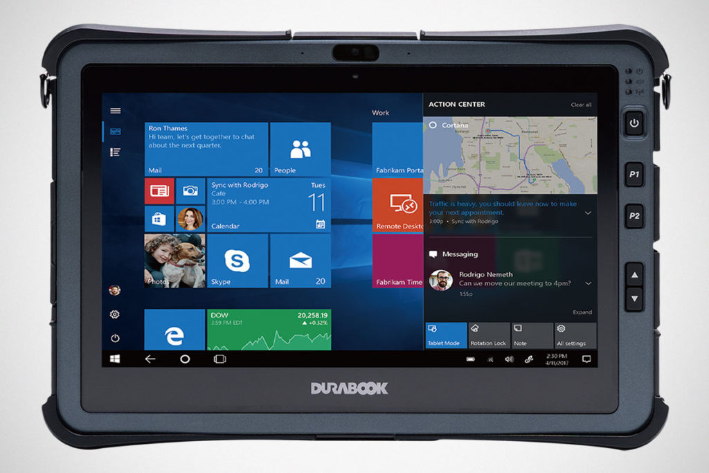 Durabook Americas U11 Fully Rugged Tablet
