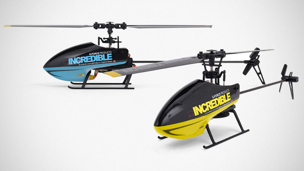 G-Force Incredible 2.4 GHz 4Ch RC Helicopter
