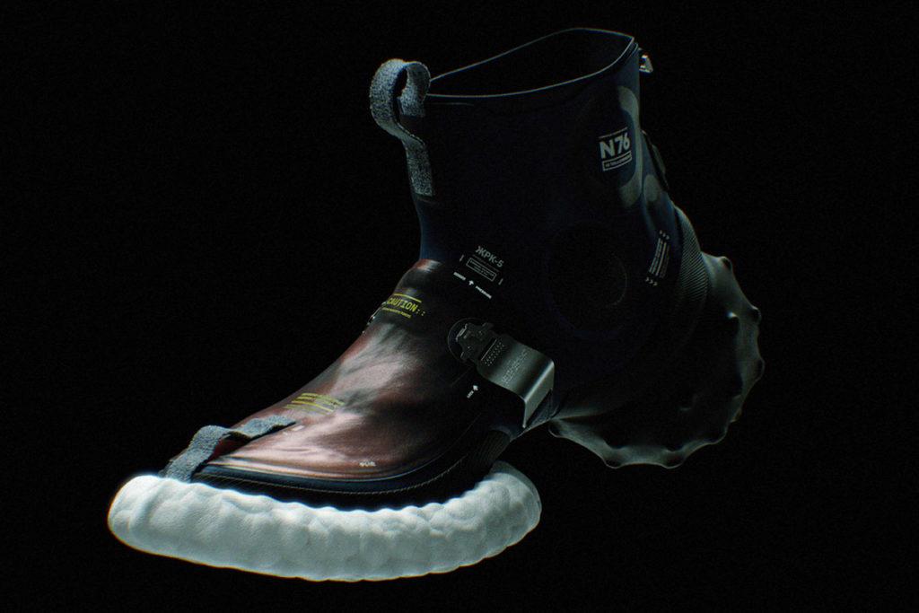 ICARUS-4 Concept Space Sneaker by Denis Agarkov