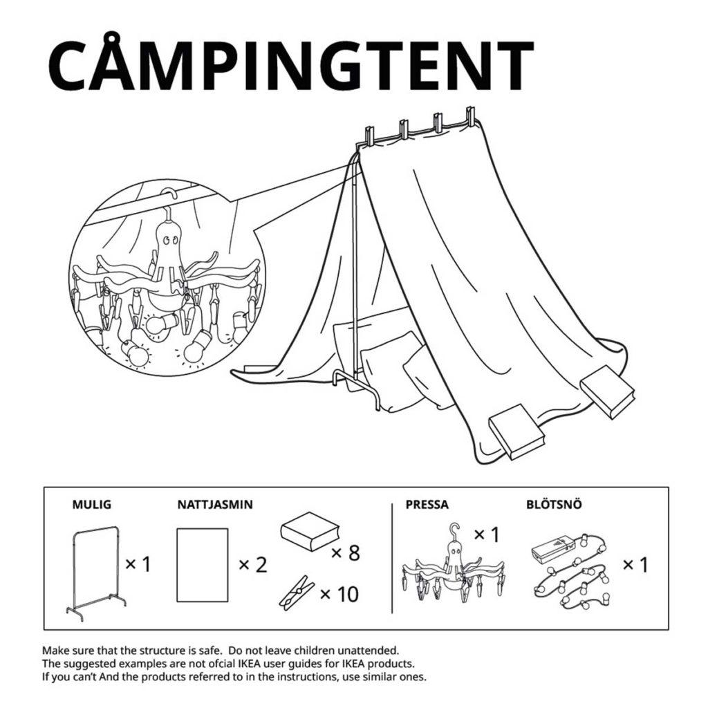 IKEA 6 Ways To Make Furniture Forts