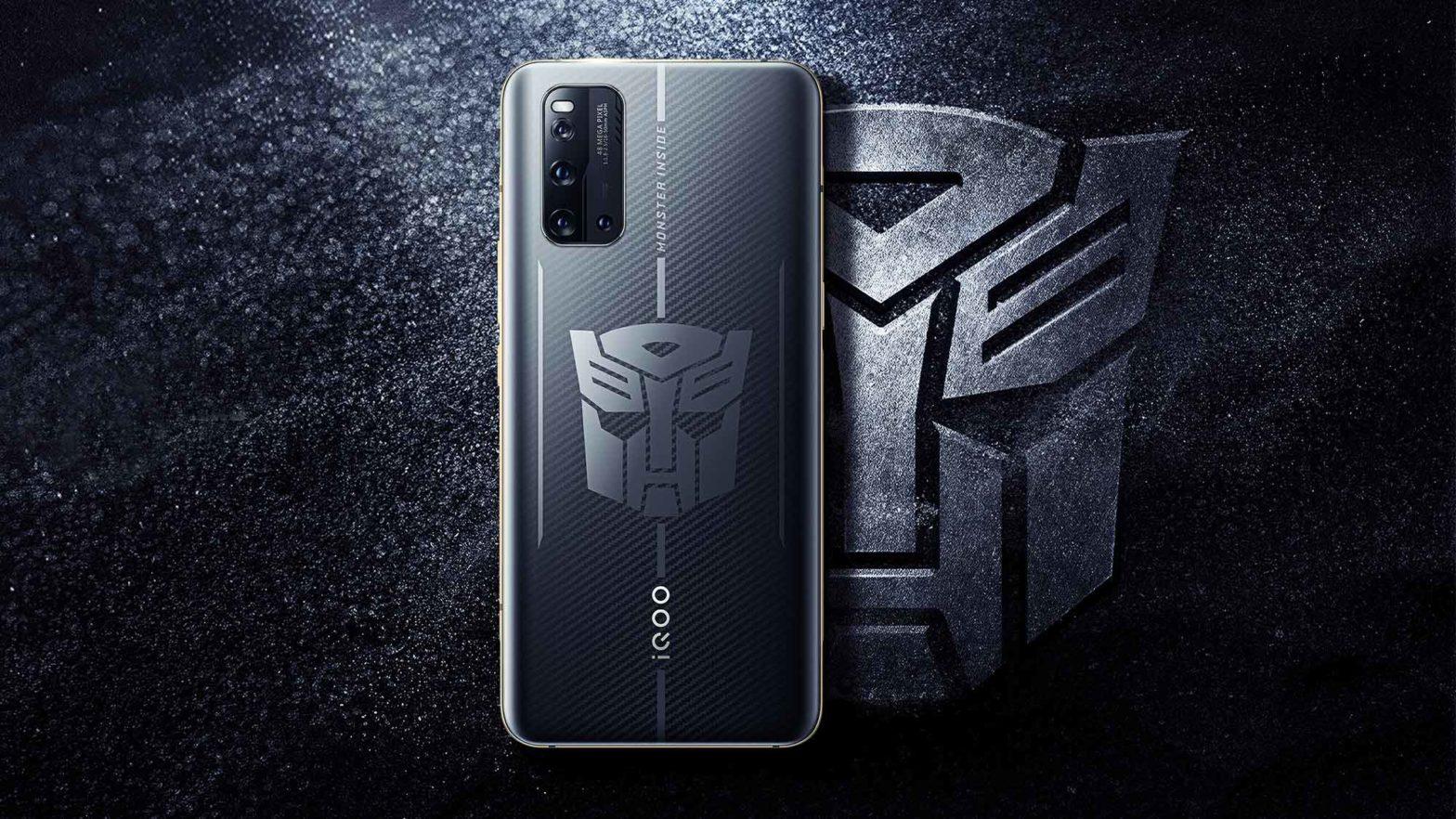 IQOO 3 Transformers Edition Smartphone
