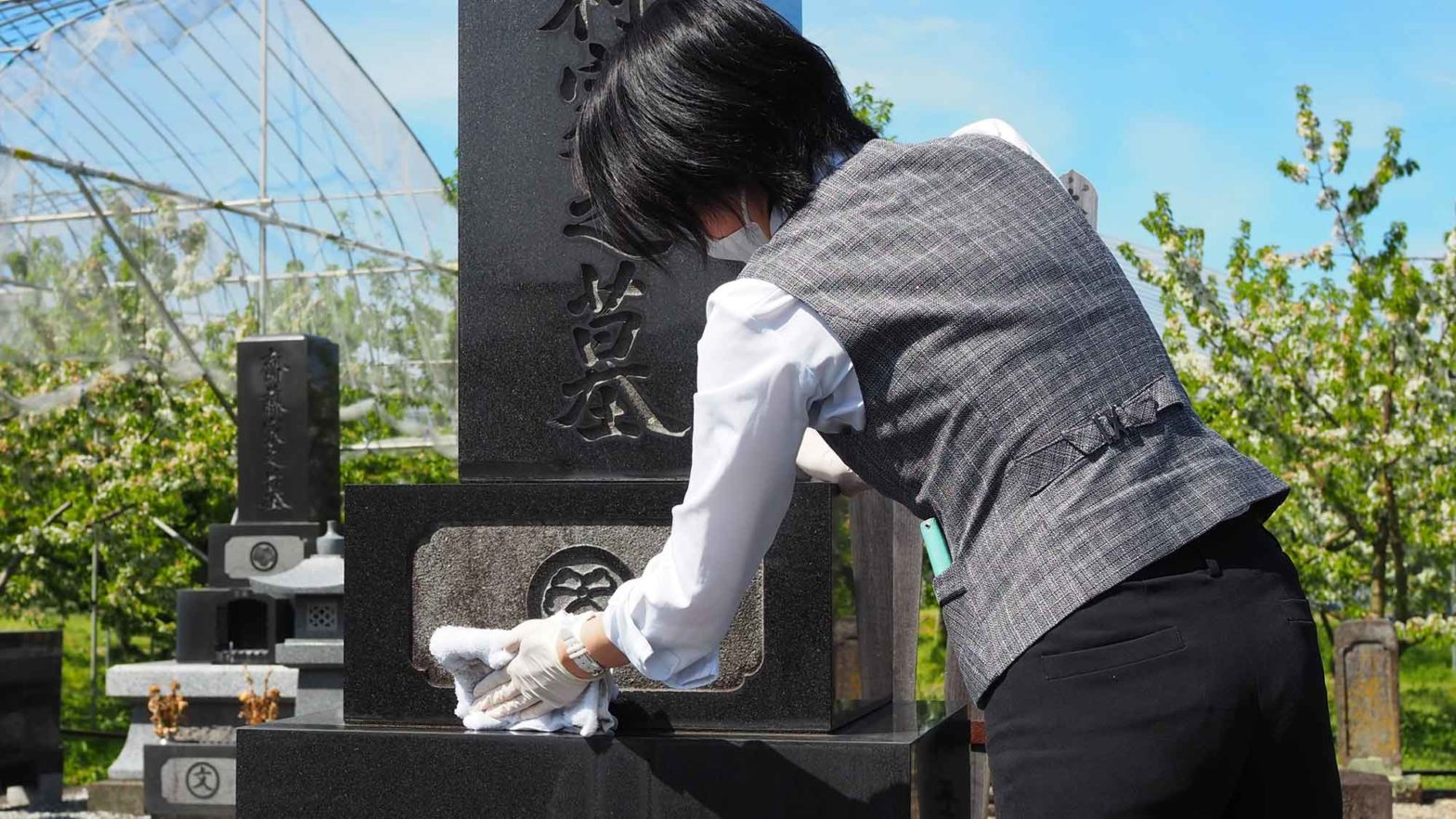 Japan Funeral Company Online Grave Visit
