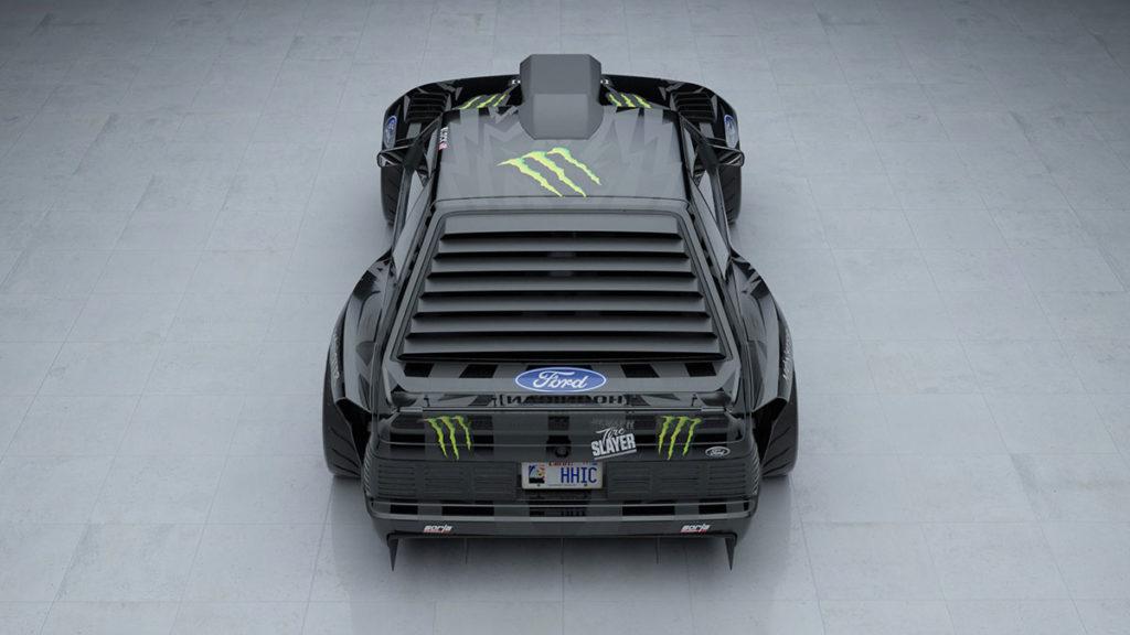 Ken Block Ford Mustang Hoonifox Concept