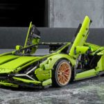 First LEGO Technic Lamborghini Unveiled, Has An Engine With Lamborghini Engine Cover!