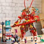 LEGO Reimagined Chinese Monkey King Legend As Monkie Kid With Giant Mech Suit