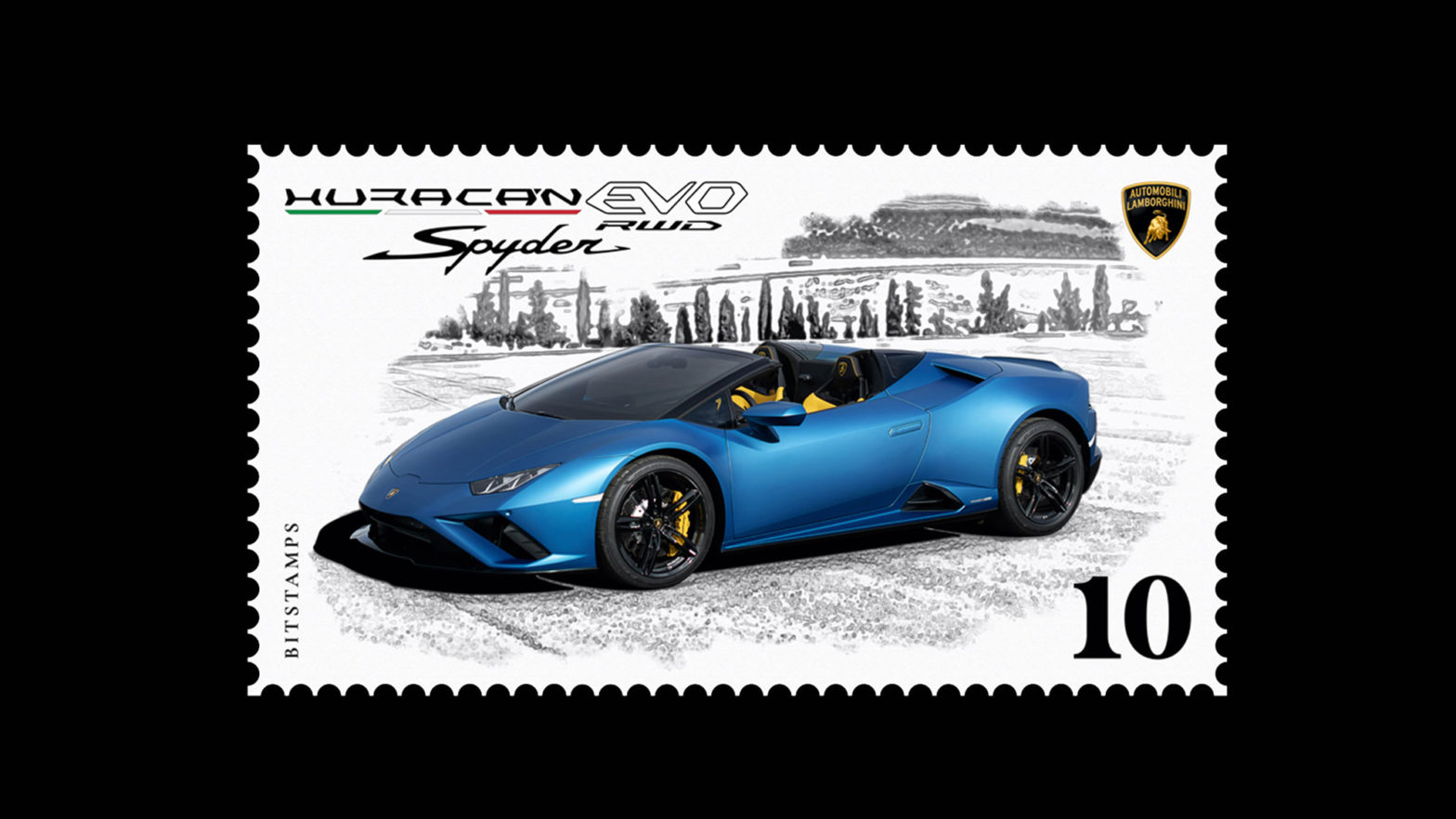 Lamborghini First Digital Stamps Launched