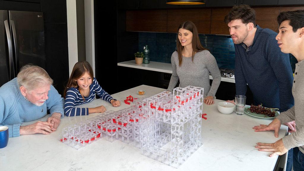 MagnetCubes Modular Blocks Marble Run Kit