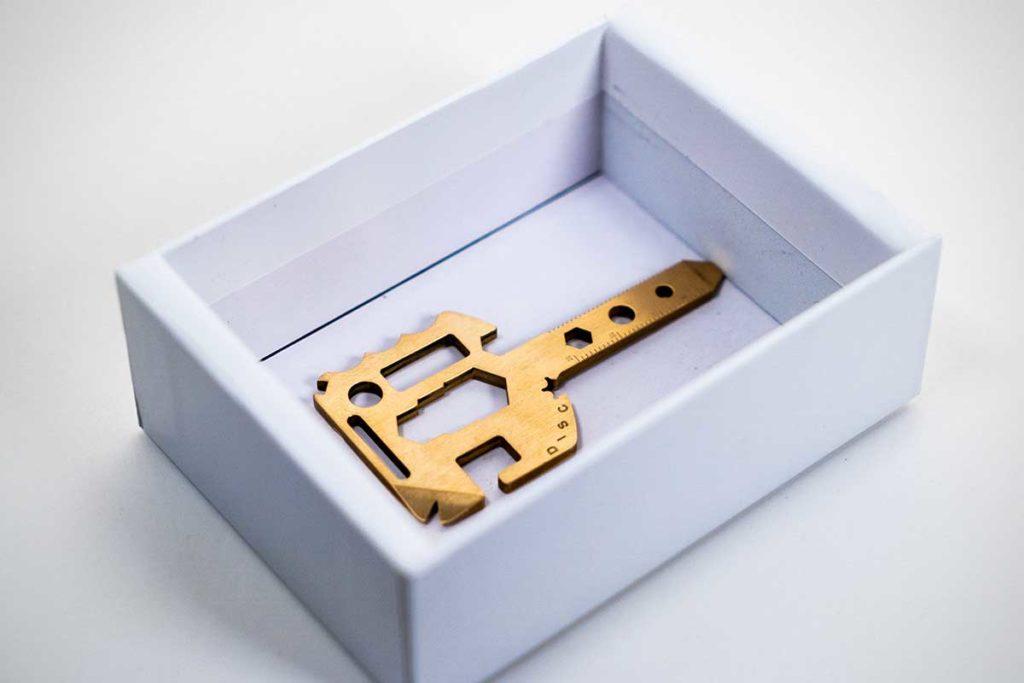 MultiKey Key Shaped Multi-tool