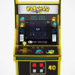<em>Pac-Man</em> 40th Anniversary Edition Micro Player Is Gold-Clad And Features Lenticular Graphics