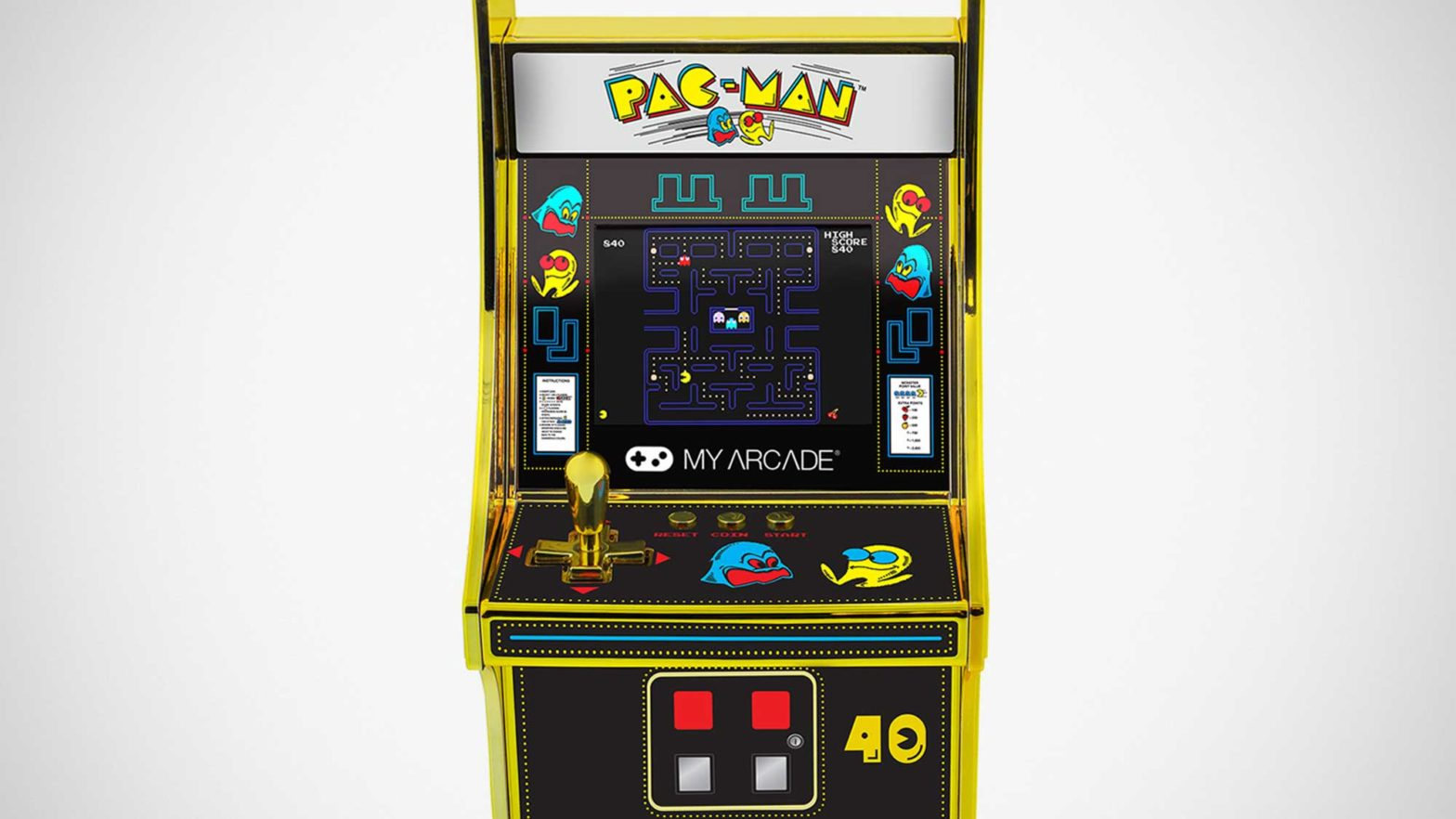 Pac-Man 40th Anniversary Edition Micro Player