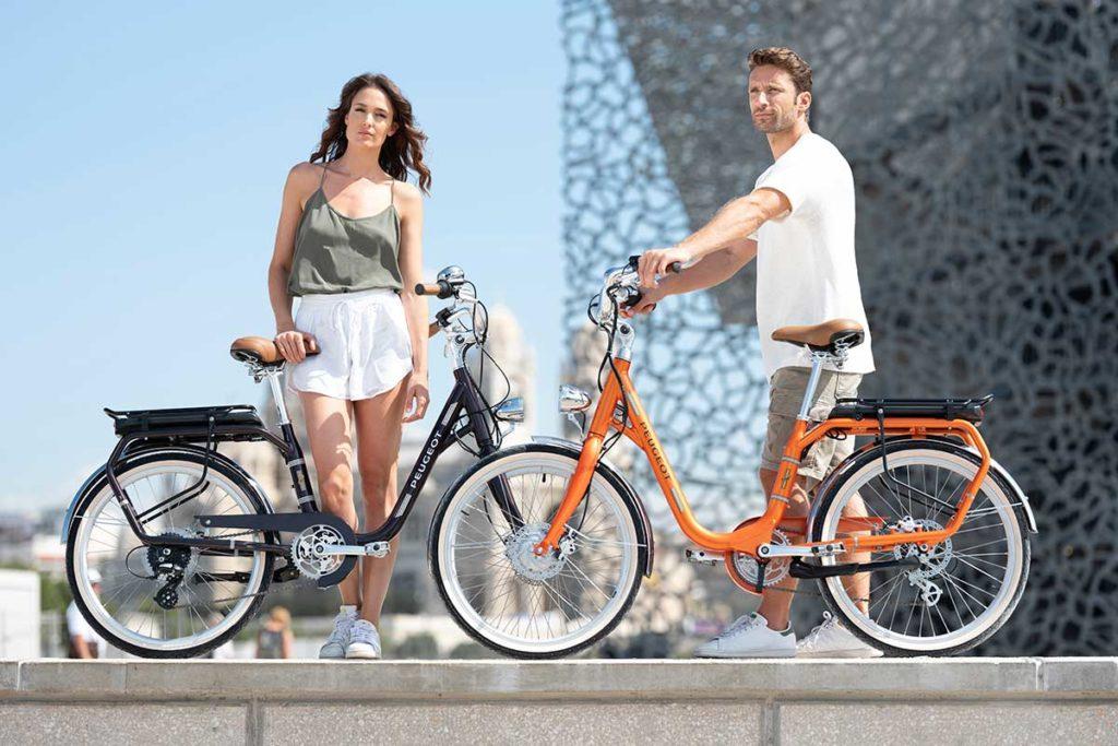 "Peugeot Cycles eLC01 e-Bike with 26"" Wheels"
