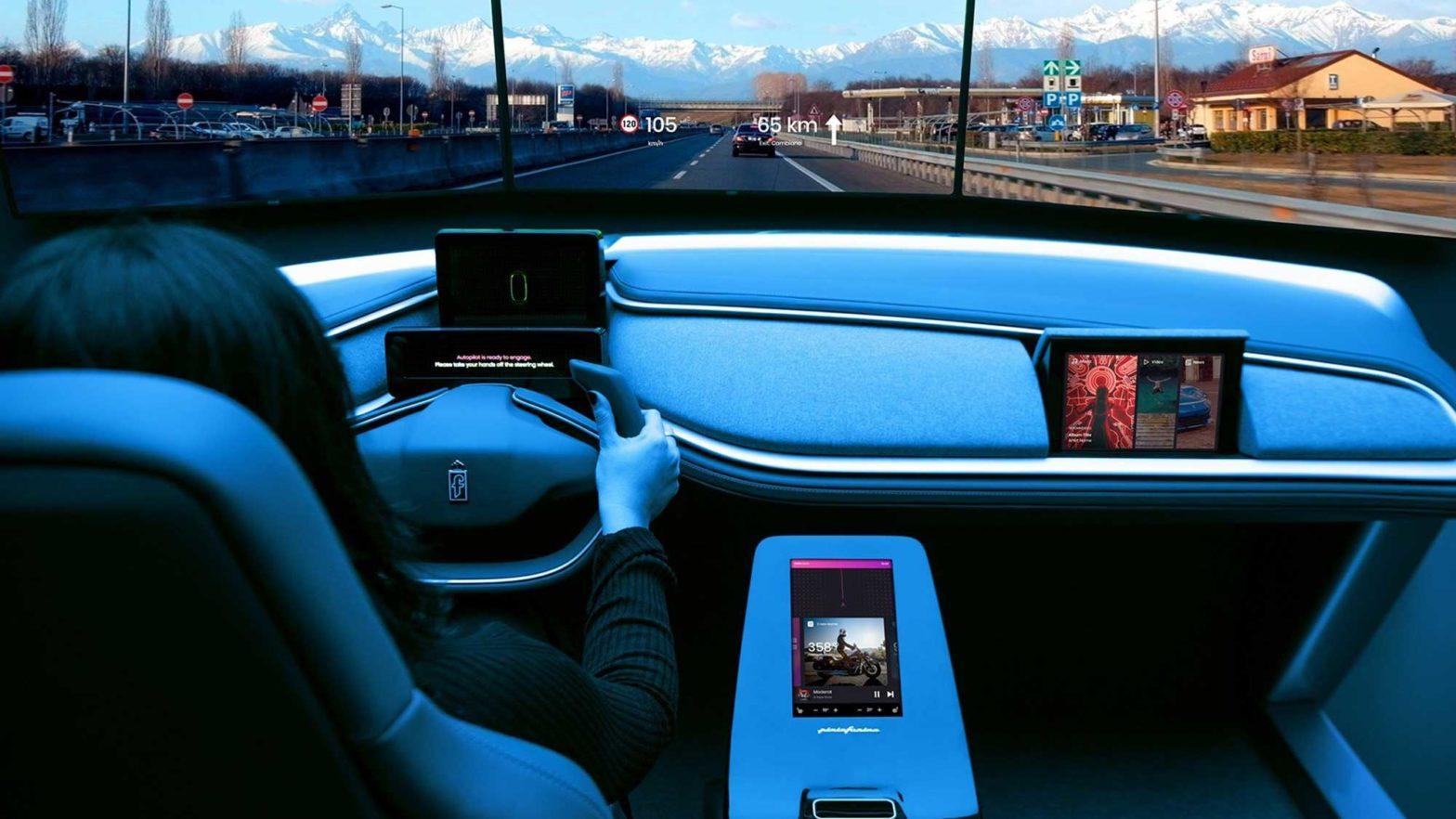 Pininfarina AutonoMIA Responsive Driving Experience