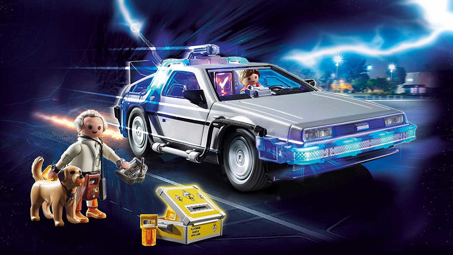 Playmobil Back to the Future DeLorean Set