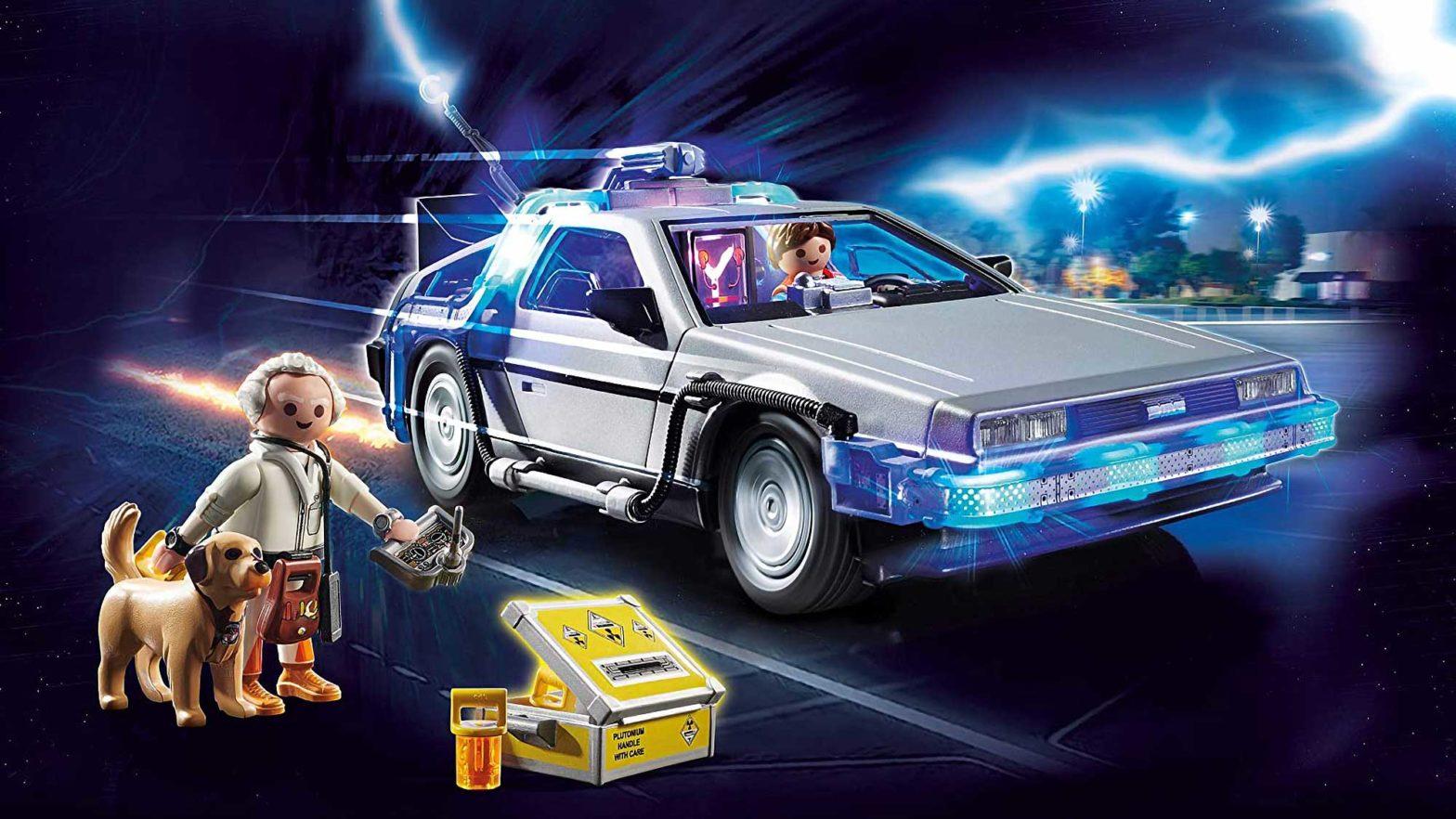 Playmobil Back to the Future DeLorean Set